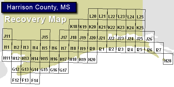 Harrison County, MS Recovery Map