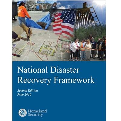 National Disaster Recovery Framework report cover