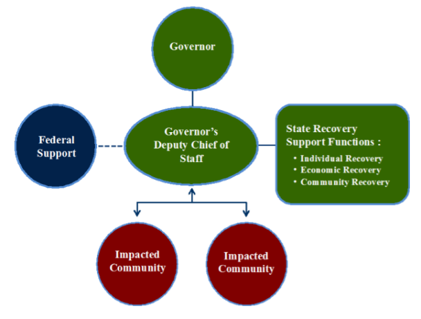 Illinois Recovery Organization Structure for 2012 Tornadoes