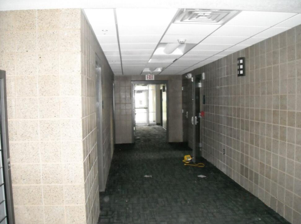 Spartan hall safe room interior view