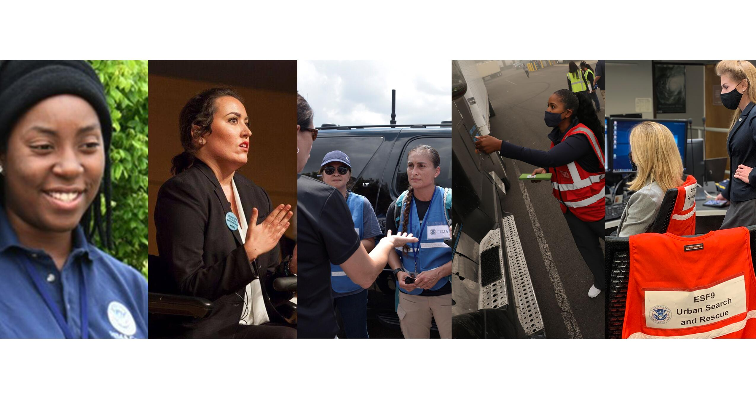 Photos of different FEMA Employee Women