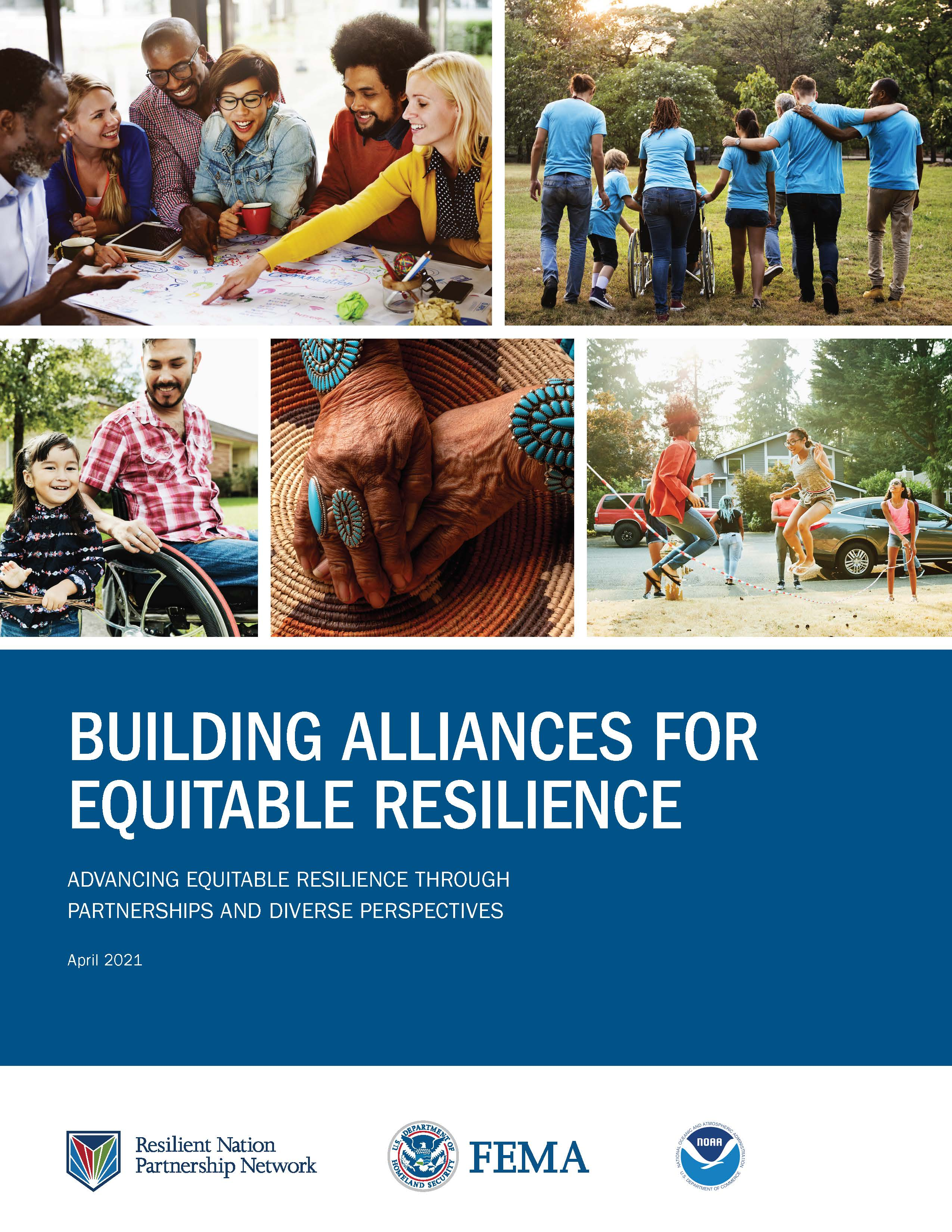 Building Alliances for Equitable Resilience frontpage.