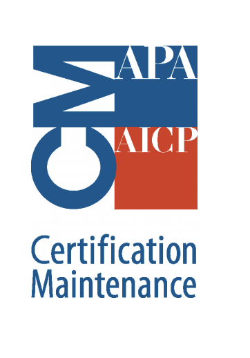 Members of the American Planning Association's American Institute of Certified Planners Graphic