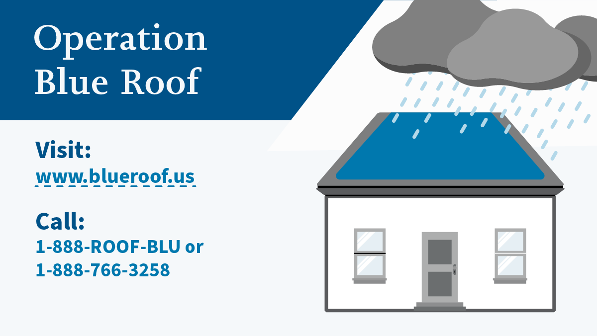 Operation Blue Roof (Twitter)