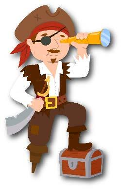 Captain Kit, a character featured in the Captain Kit and the Ready Crew youth-focused educational materials from the City of Henderson.