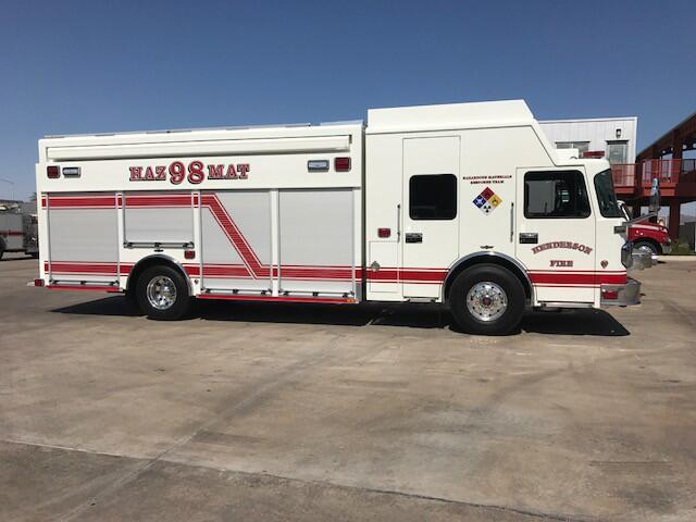 City of Henderson HazMat Response Vehicle chemical detection, classification, and identification equipment.