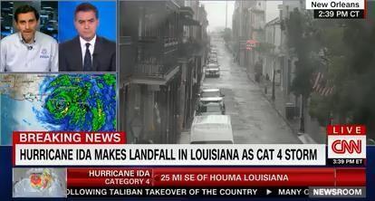 FEMA's Acting Associate Administrator for Response and Recovery, David Bibo, spoke on CNN about Hurricane Ida Response