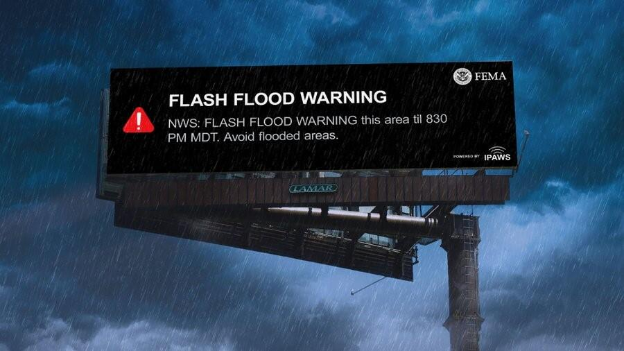 Flash Flood Warning NWS: FLASH FLOOD WARNING this are till 830 PM MDT. Avoid flooded areas.