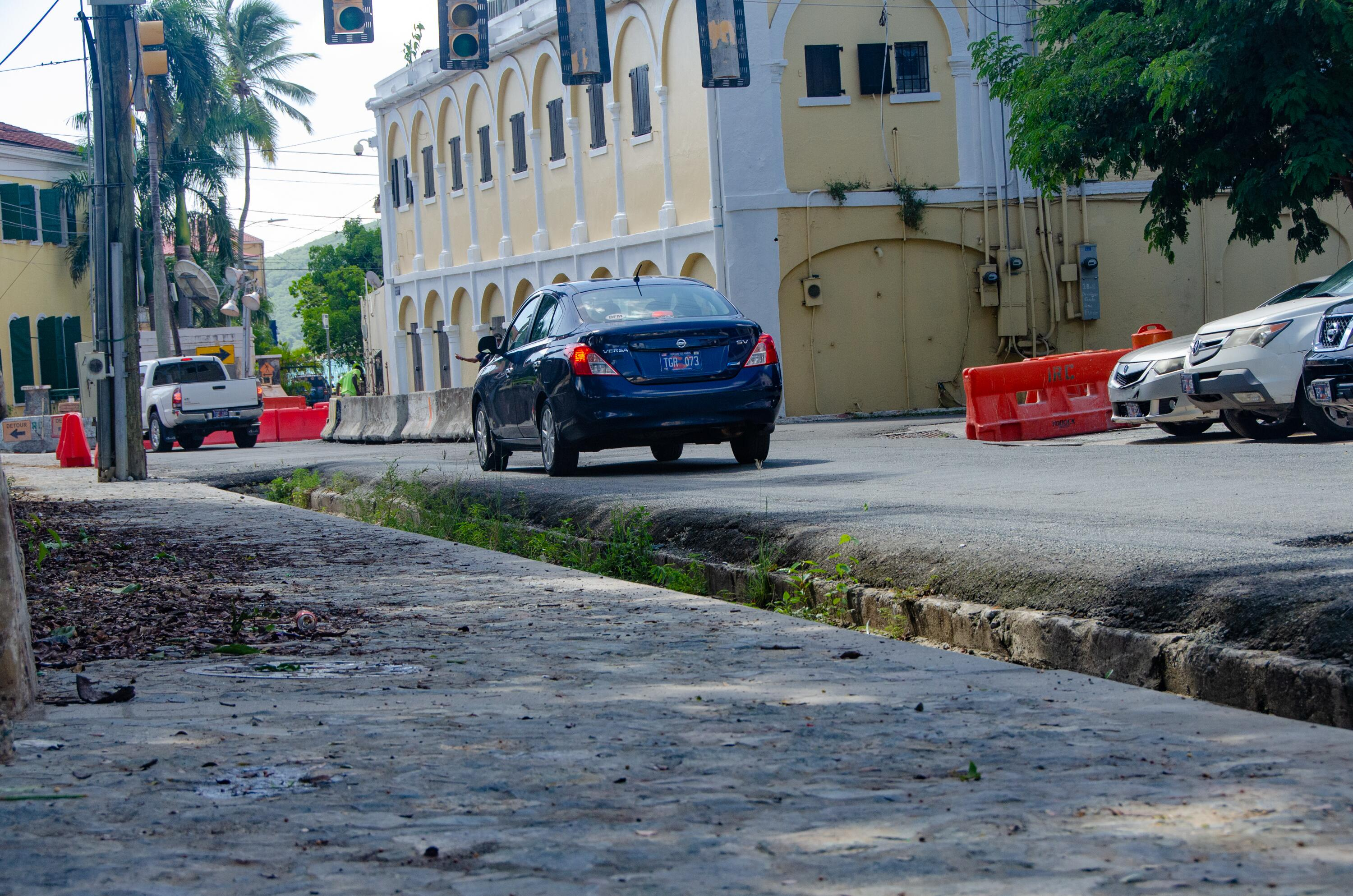 FEMA's Public Assistance Program is supporting the V.I. Waste Management Authority's plans for sewer line repairs for the Garden Street gut in Charlotte Amalie on St. Thomas. Hurricanes Irma and Maria left Garden Street littered with debris in September 2017.